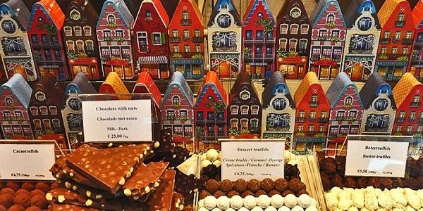 Музей шоколада в Брюгге