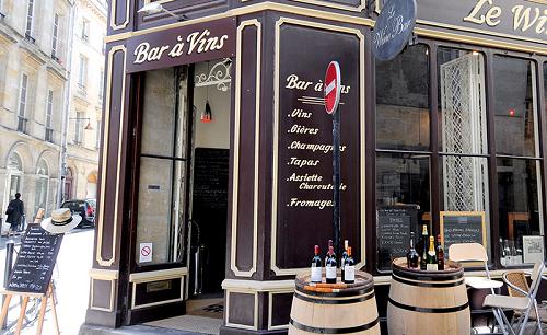 Винный ресторан в Бордо