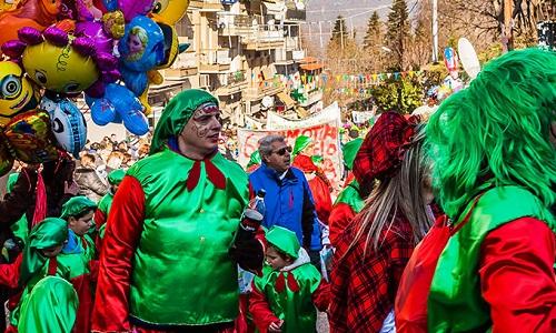 Карнавал Рагуцарья в Касторьи