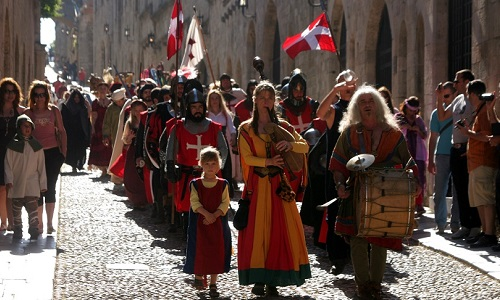 Средневековый фестиваль Родоса