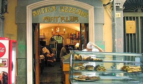 Пиццерия «Antica Pizzeria Port'Alba»