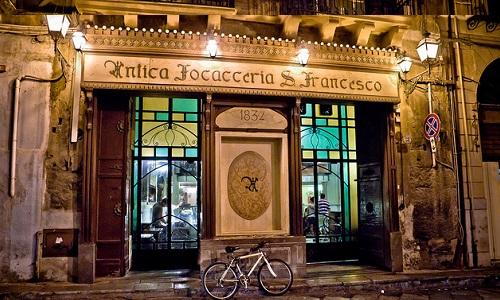 Кафе «Antica Focacceria San Francesco»