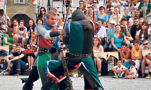 Средневековый фестиваль в Сигишоаре
