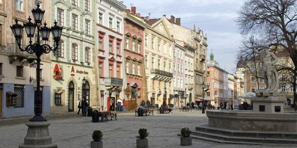 Плошадь Рынок во Львове