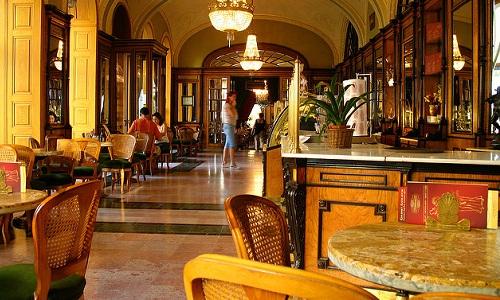 Кофейня Gerbeaud